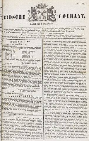Leydse Courant 1871-08-05
