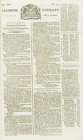 Leydse Courant 1826-10-13