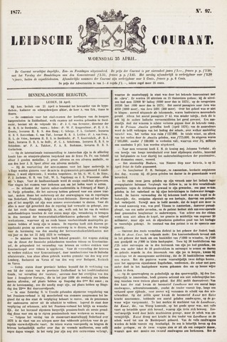 Leydse Courant 1877-04-25