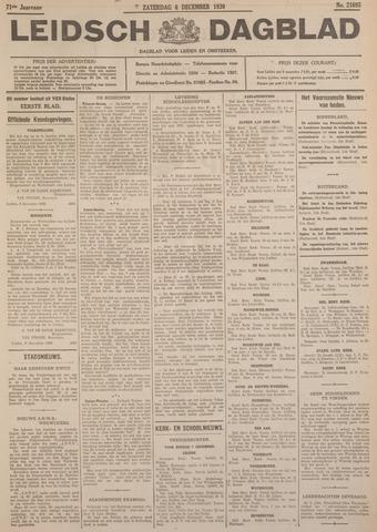 Leidsch Dagblad 1930-12-06