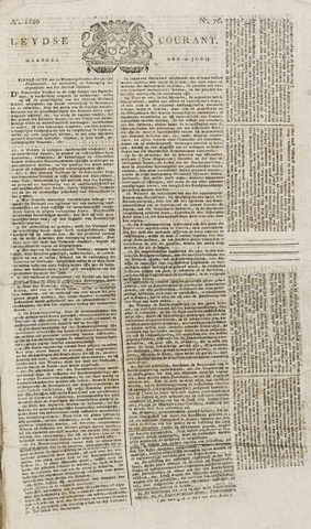Leydse Courant 1820-06-26