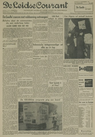 Leidse Courant 1958-09-30