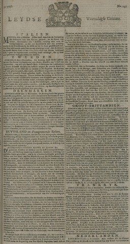Leydse Courant 1728-11-24