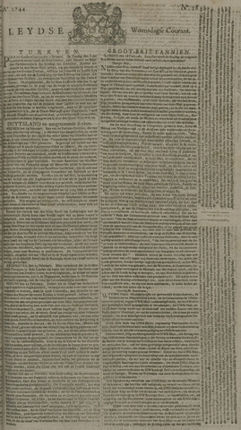Leydse Courant 1744-03-04