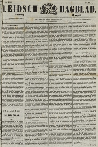 Leidsch Dagblad 1873-04-08