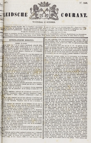 Leydse Courant 1871-10-11