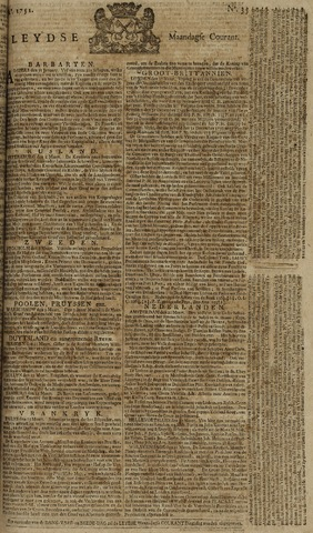 Leydse Courant 1751-03-22