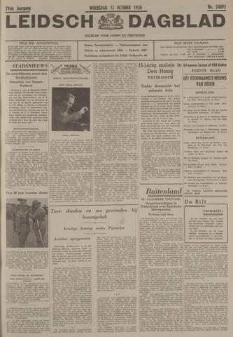 Leidsch Dagblad 1938-10-12