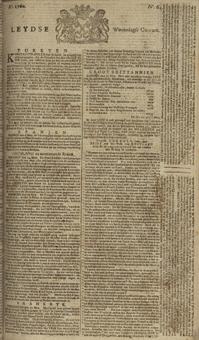 Leydse Courant 1760-05-28