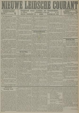 Nieuwe Leidsche Courant 1921-07-21