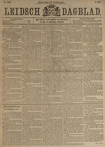 Leidsch Dagblad 1897-02-27