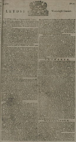Leydse Courant 1729-09-07