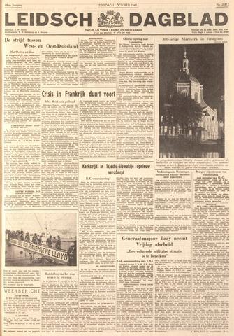 Leidsch Dagblad 1949-10-11