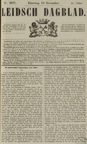 Leidsch Dagblad 1866-11-10
