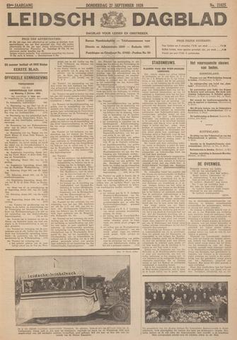 Leidsch Dagblad 1928-09-27