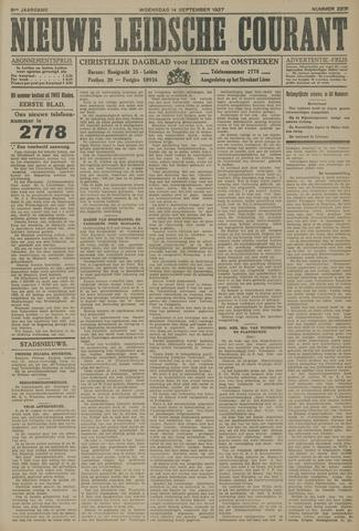 Nieuwe Leidsche Courant 1927-09-14