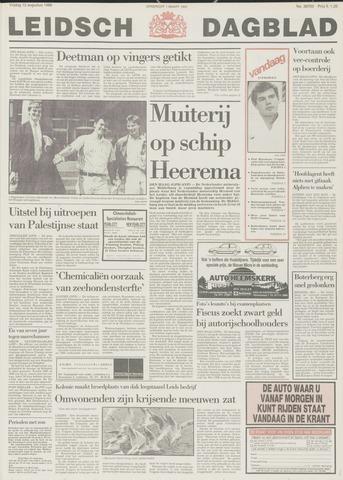 Leidsch Dagblad 1988-08-12