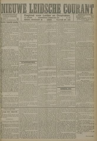 Nieuwe Leidsche Courant 1921-02-03