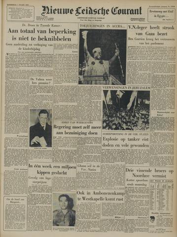 Nieuwe Leidsche Courant 1957-03-07