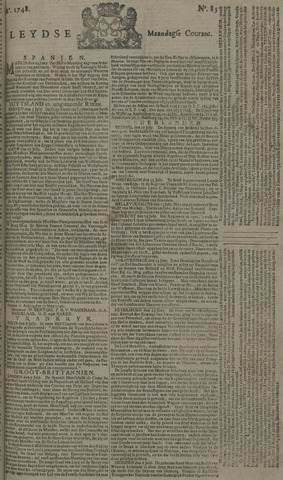 Leydse Courant 1748-07-15