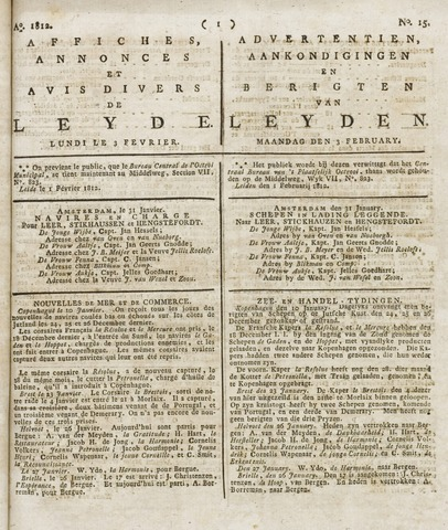 Leydse Courant 1812-02-03