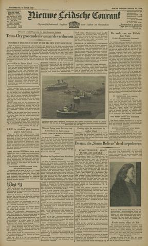 Nieuwe Leidsche Courant 1947-04-17