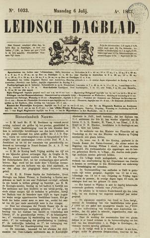 Leidsch Dagblad 1863-07-06