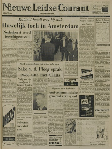 Nieuwe Leidsche Courant 1965-10-30