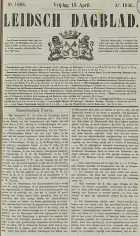 Leidsch Dagblad 1866-04-13
