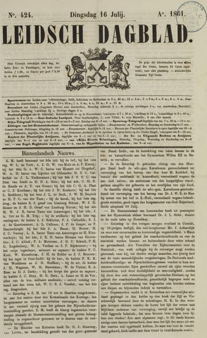 Leidsch Dagblad 1861-07-16
