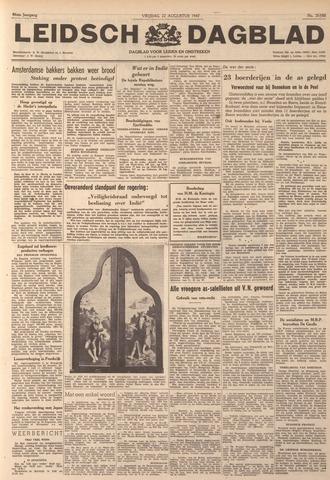 Leidsch Dagblad 1947-08-22