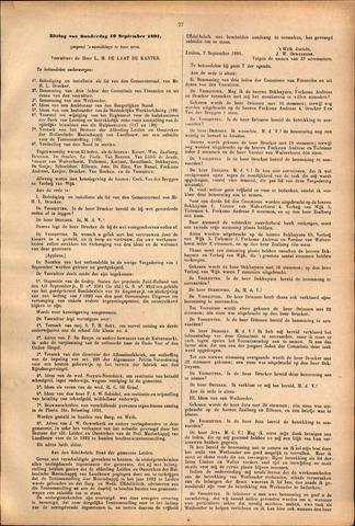 Handelingen van de Raad 1891-09-10