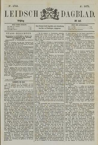 Leidsch Dagblad 1875-07-30