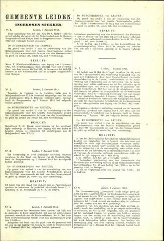 Handelingen van de Raad 1943-01-07