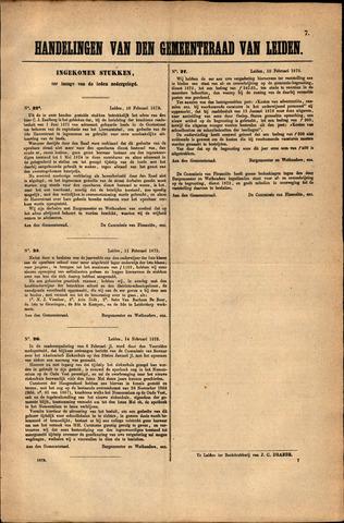 Handelingen van de Raad 1873-02-10