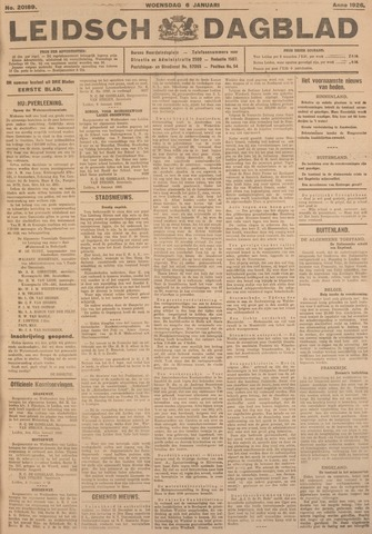 Leidsch Dagblad 1926-01-06