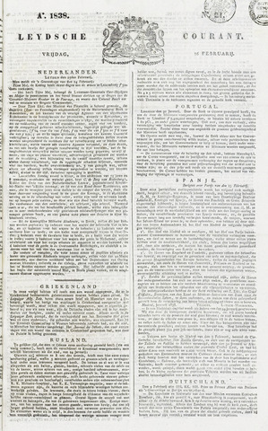 Leydse Courant 1838-02-16