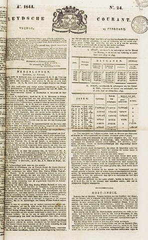 Leydse Courant 1844-02-23