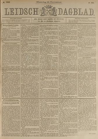 Leidsch Dagblad 1901-11-18