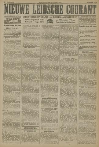 Nieuwe Leidsche Courant 1927-12-28
