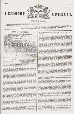 Leydse Courant 1876-03-31