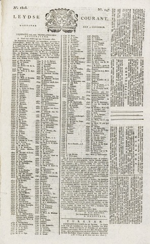 Leydse Courant 1818-12-09