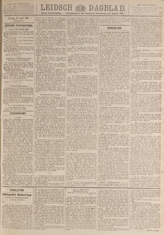 Leidsch Dagblad 1919-04-29