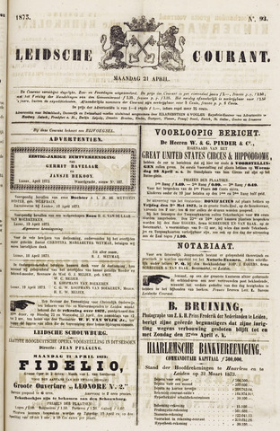 Leydse Courant 1873-04-21
