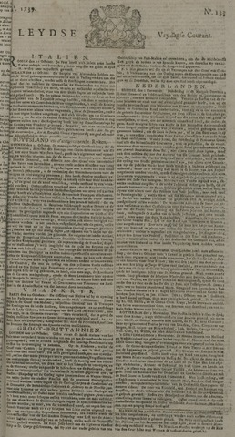 Leydse Courant 1739-11-06