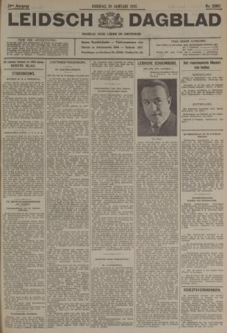 Leidsch Dagblad 1935-01-29