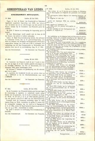 Handelingen van de Raad 1913-07-22