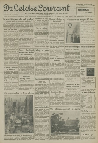 Leidse Courant 1954-08-04