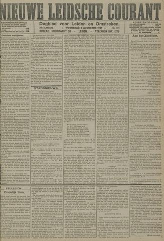 Nieuwe Leidsche Courant 1921-08-03