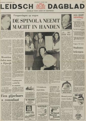 Leidsch Dagblad 1974-09-28